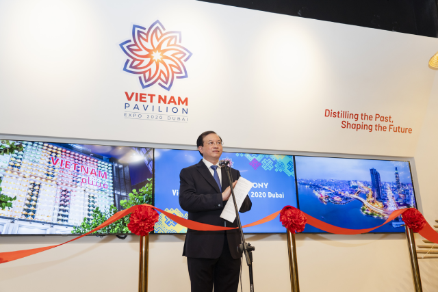 PGS. TS. Tạ Quang Đông, Thứ trưởng Bộ Văn hóa, Thể thao và Du lịch phát biểu khai mạc.