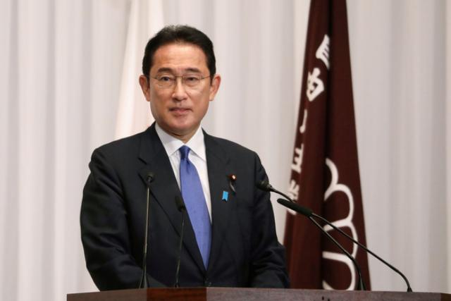 Tân Thủ tướng Nhật Bản Kishida Fumio - Ảnh: REUTERS