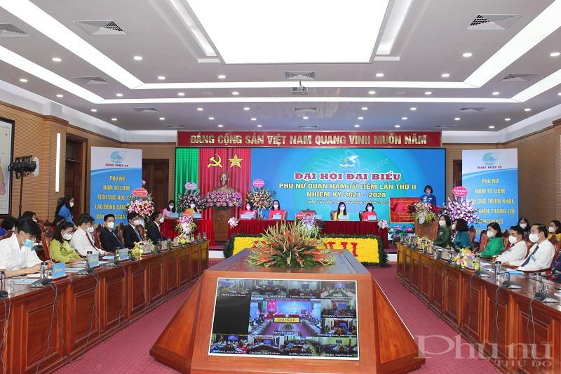 Đại hội được tổ chức bằng hình thức trực tiếp và trực tuyến