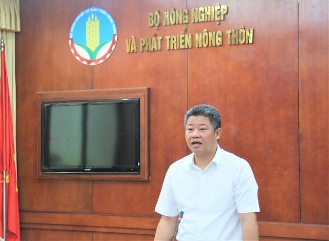 Phó Chủ tịch UBND thành phố Nguyễn Mạnh Quyền phát biểu đại hội nghị