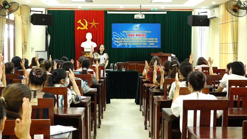 Bằng sự đồng lòng, đoàn kết, nhiều chỉ tiêu, hoạt động của Hội LHPN huyện Thanh Oai đã thành công và đạt kết quả cao