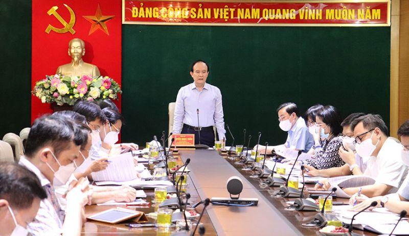 Chủ tịch HĐND TP chủ trì hội nghị