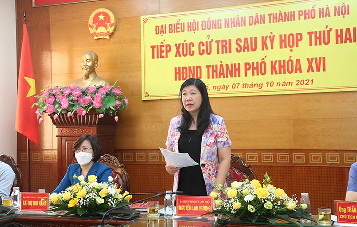 Chủ tịch UB MTTQ TP Hà Nội giải đáp ý kiến của cử tri