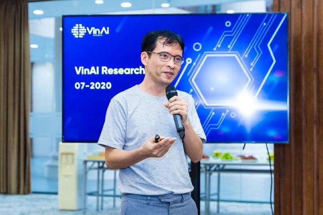 Tiến sĩ Bùi Hải Hưng từng bày tỏ tham vọng đưa Việt Nam vào bản đồ AI toàn cầu.