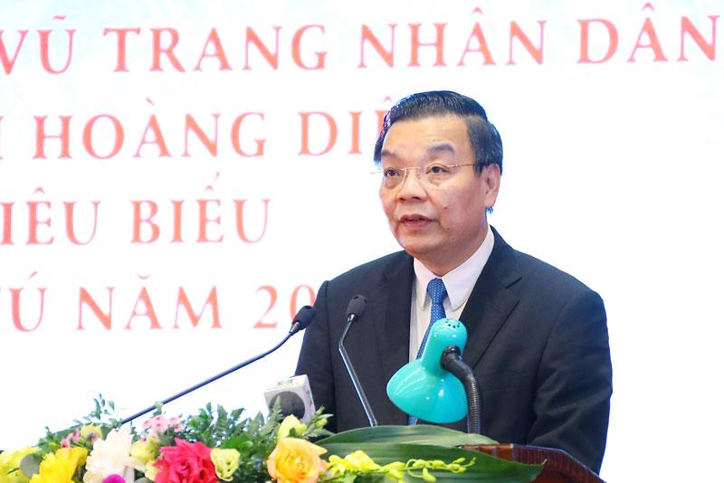 Chủ tịch UBND thành phố phát động phong trào thi đua năm 2022
