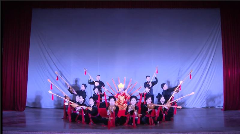 Hát Then - làn điệu phản ánh nhân sinh quan, thế giới quan và bản sắc văn hóa của các dân tộc miền núi phía Bắc đã trình diễn trong Ngày Việt Nam tại Thụy Sỹ năm 2021