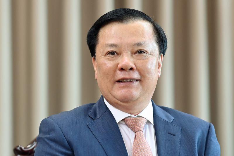 Đồng chí Đinh Tiến Dũng - Ủy viên Bộ Chính trị, Bí thư Thành ủy, Trưởng đoàn Đại biểu Quốc hội TP Hà Nội.