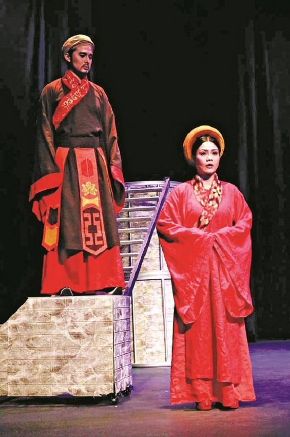 """Vở """"Thành Thăng Long thủa ấy"""" của Nhà hát Thế giới Trẻ sẽ tham gia Liên hoan sân khấu kịch nói toàn quốc 2021 Ảnh: NH Thế giới trẻ"""