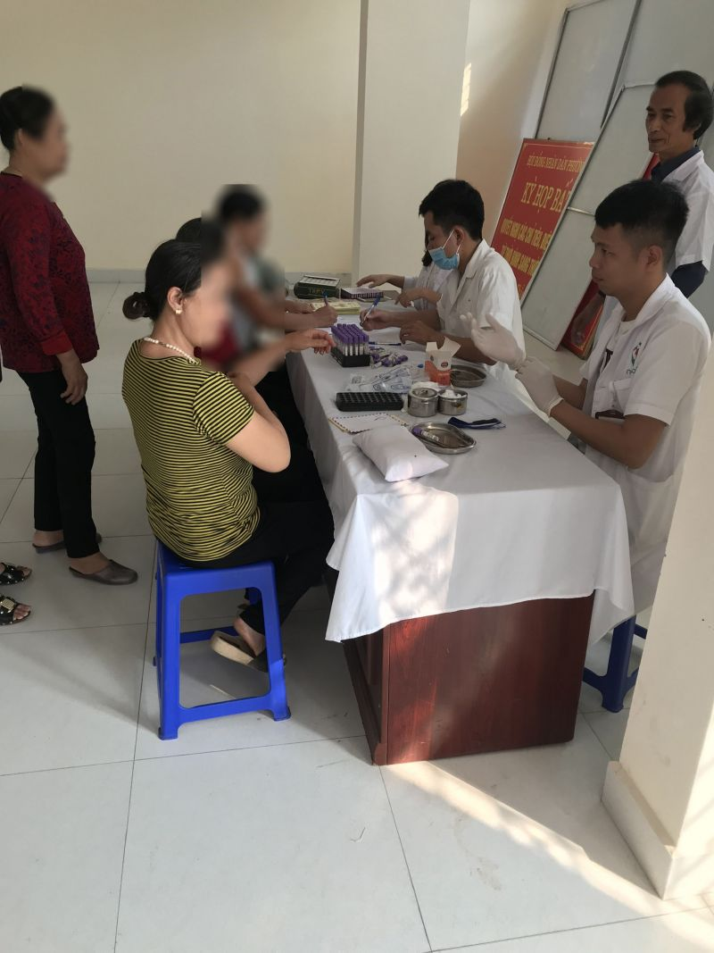 Hội viên CLB đồng cảm tham gia lấy mẫu xét nghiệm HIV/AIDS