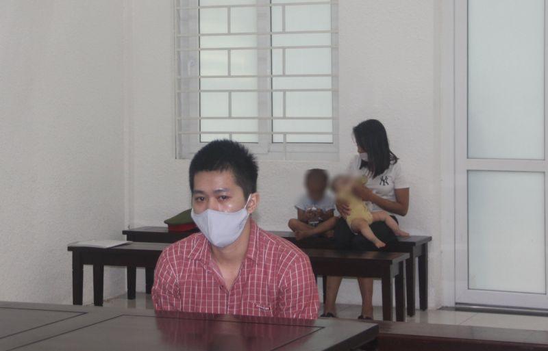 Bị cáo Phạm Thanh Tùng tại toà