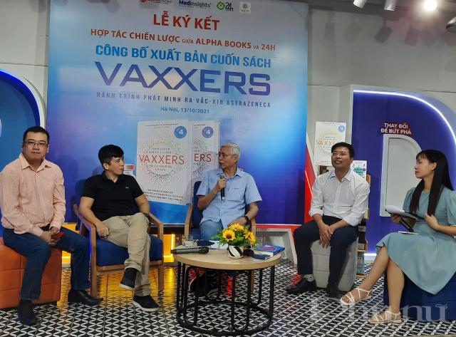 PGS.TS Lê Văn Truyền, Chuyên gia cao cấp dược học, Nguyên Thứ trưởng Bộ Y tế chia sẻ trong Lễ ký kết.